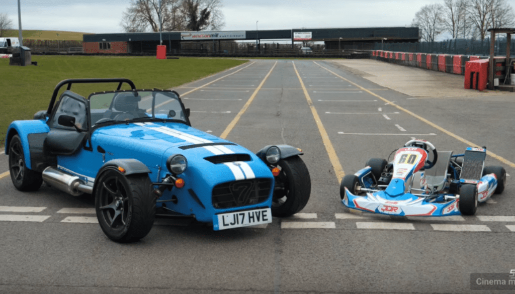 14 Caterham 620S vs Go Kart feat Jamie Chadwick YouTube